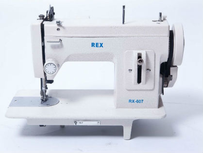 REX RX-607 Portable Walking Foot Machine with Reverse Feed
