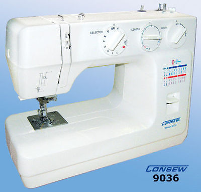 Consew Portable Home Sewing Machine Model 9036