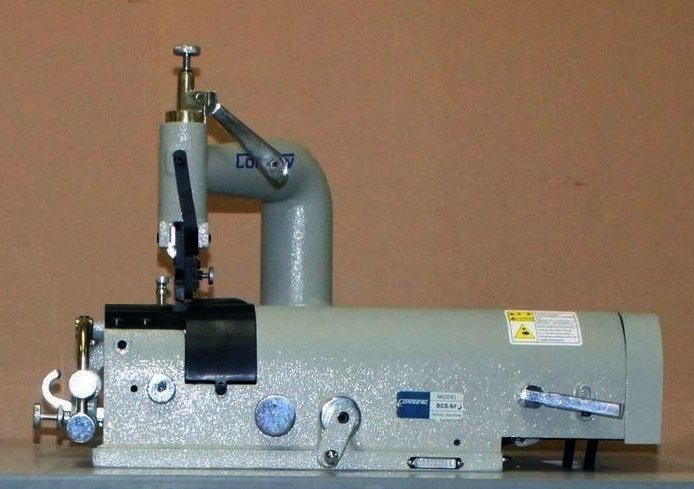 Consew DCS-S4 Industrial Skiving Machine Complete w/ Servo Stand