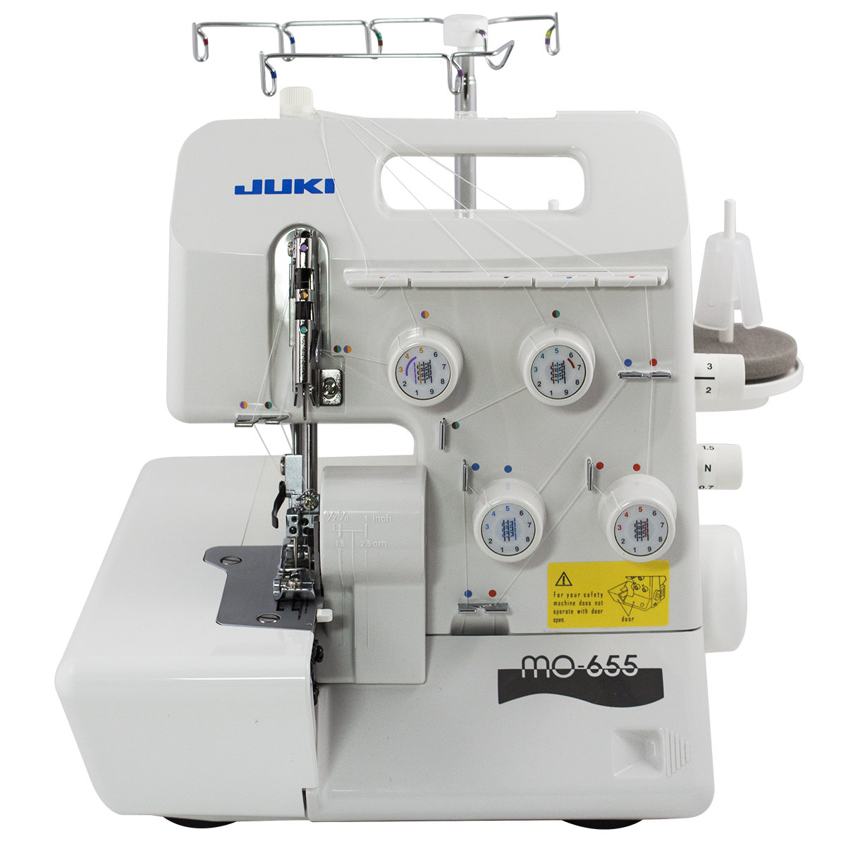 Juki MO-655 Pearl Series Serger - Free Shipping Continental US- INCLUDED 10 EXTRA NEEDLES
