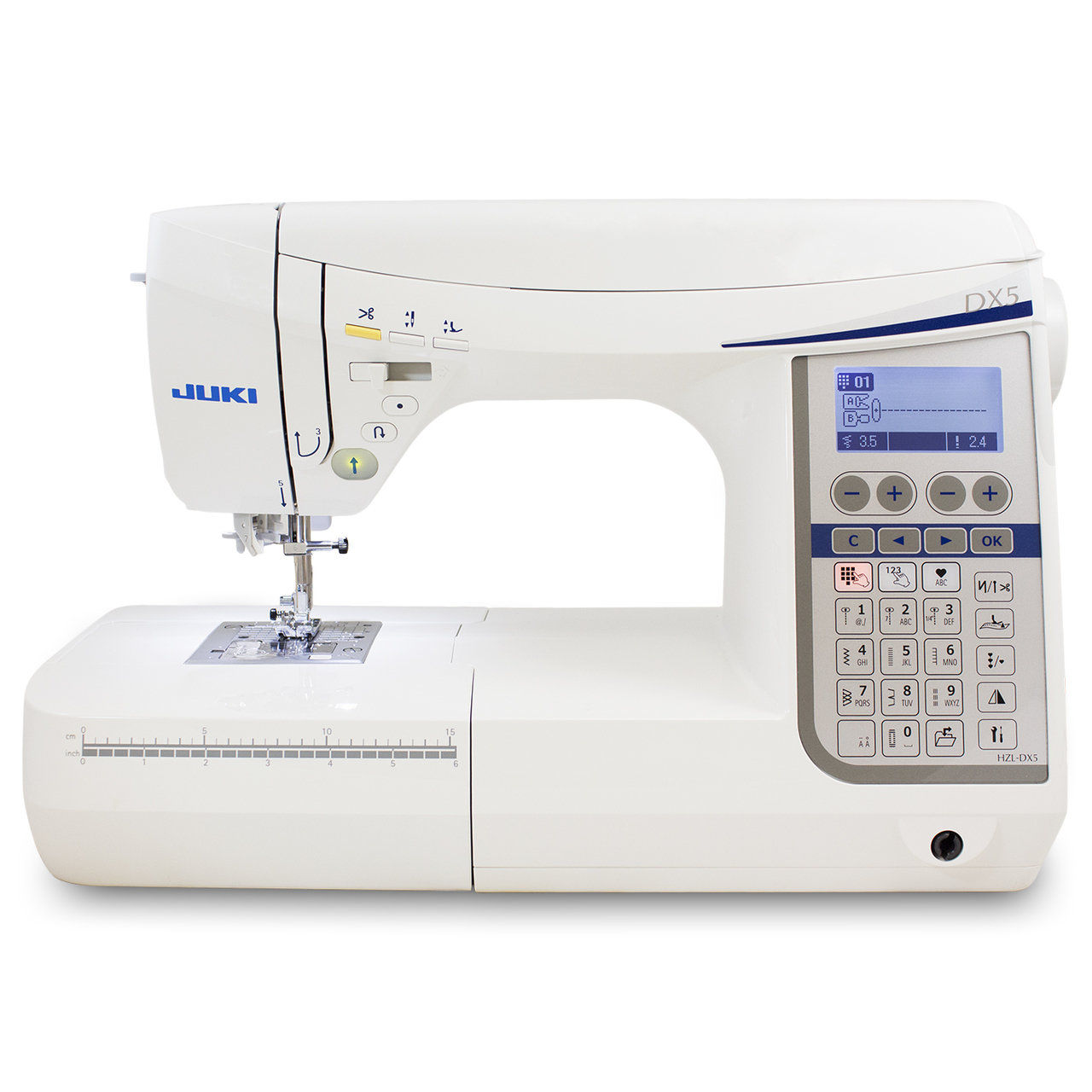 Juki HZL-DX5 Computerized Sewing and Quilting Machine - Free Shipping Continental US