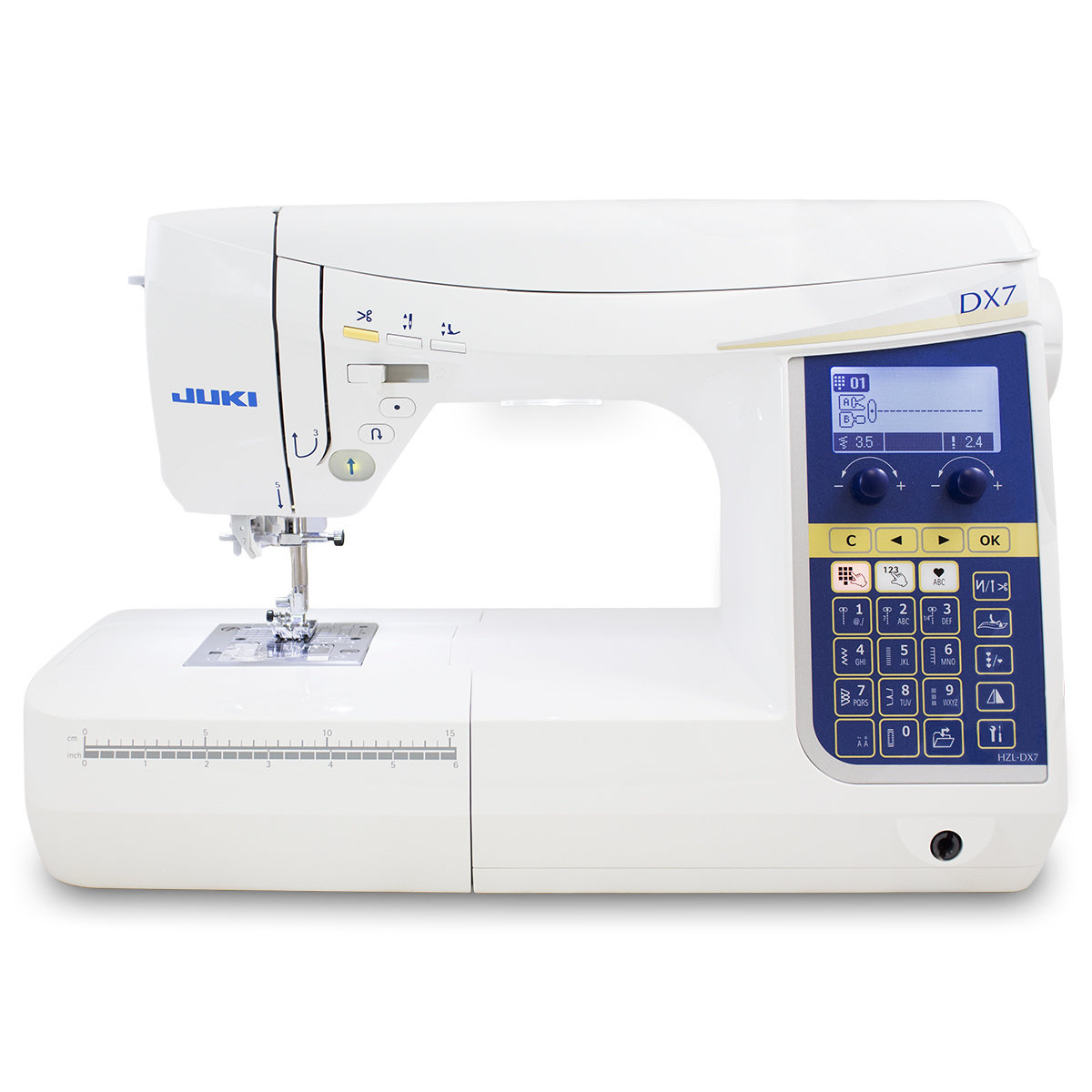 Juki HZL-DX7 Computerized Sewing and Quilting Machine-Free Shipping Continental US