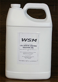 Clear Sewing Machine Oil 1 US Gallon