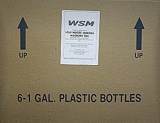 Clear Sewing Machine Oil 6 US Gallons