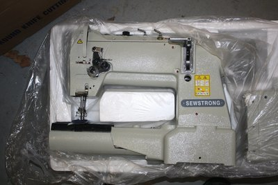 SEWSTRONG 28BL Twin Needle Cylinder Arm Industrial Sewing Machine-Free Shipping Continental US