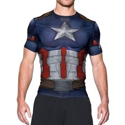 Функциональный рашгард Under Armour Alter Ego Captain America