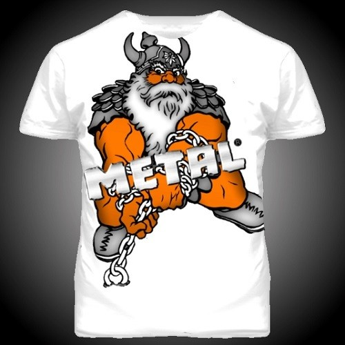 Спортивная футболка Metal Viking Power