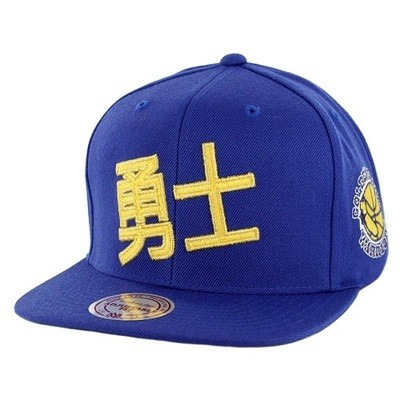 Снэпбек Mitchell and Ness Golden State Royal