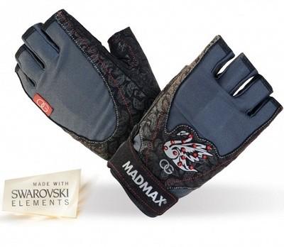 Женские тренировочные перчатки MADMAX Black Swan
