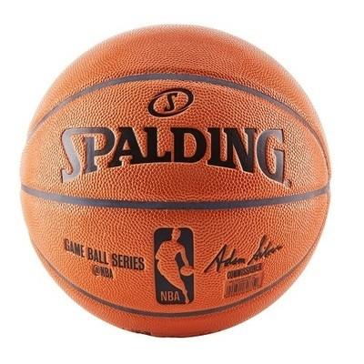 Баскетбольный мяч Spalding NBA official game ball replica, 29.5