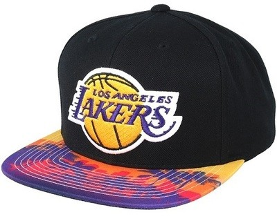 Снэпбек Mitchell and Ness Lakers Palm Cap