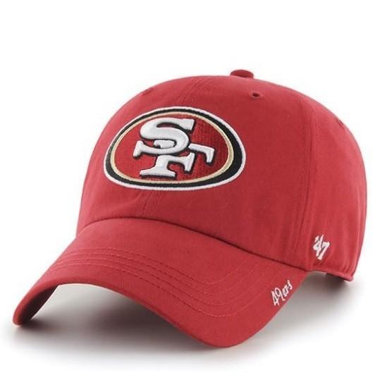 Женская кепка 47 Brand San Francisco 49ers