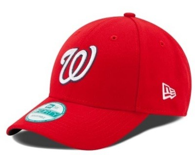 Кепка New Era Black Washington Nationals 9Forty