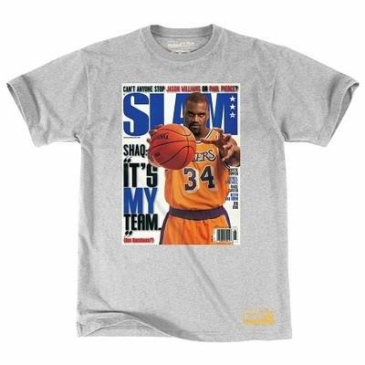 Мужская футболка Mitchell and Ness Slam Cover SHAQ Colloboration