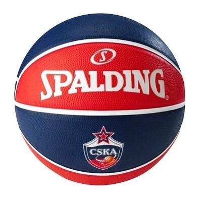 Баскетбольный мяч Spalding CSKA Euroleague, размер 7
