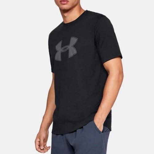 Мужская спортивная футболка Under Armour UA BIG LOGO SS Black