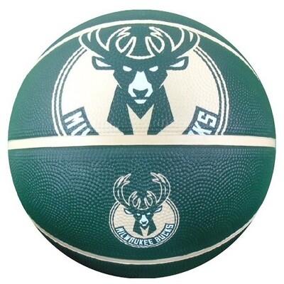 Баскетбольный мяч Spalding Milwaukee Bucks 27.5