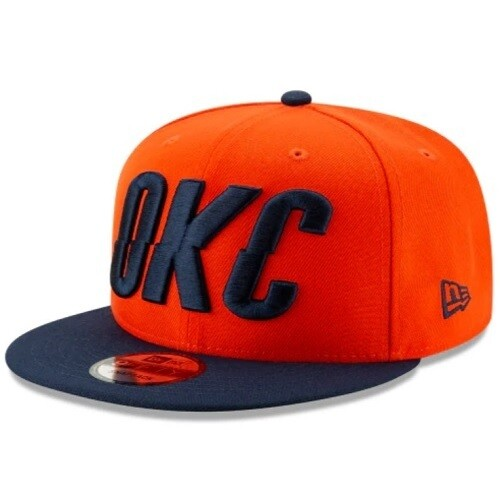 Снэпбек New Era Oklahoma City Thunder