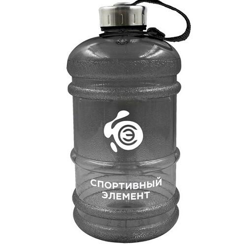 Спортивная бутылка для воды Спортивный элемент, 2200 мл