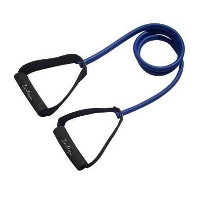 Эспандер латексный с ручками INDIGO, сильная нагрузка (7-10 кг)