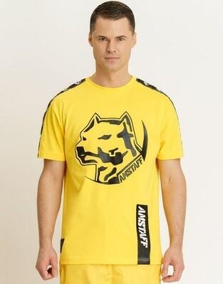 Мужская тренировочная футболка Amstaff Antar Yellow