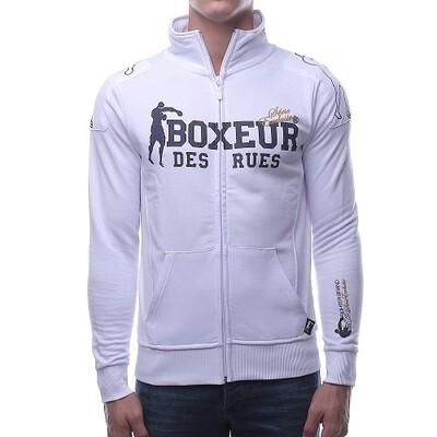 Спортивная мужская толстовка Boxeur FELPA White