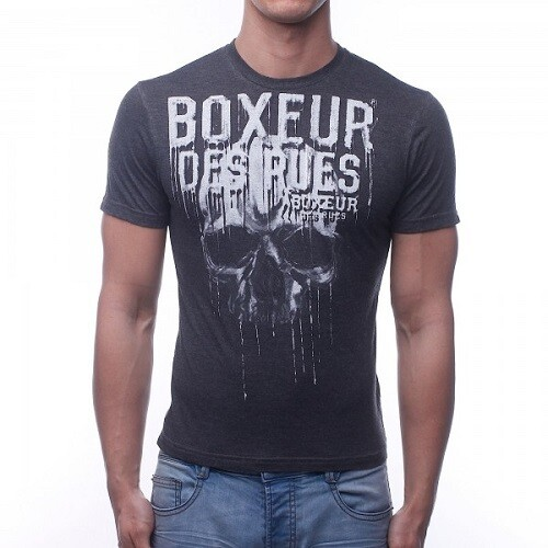 Спортивная мужская футболка Boxeur Antacite Melange