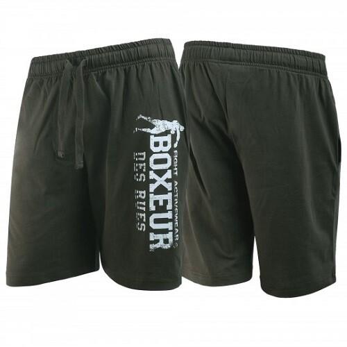 Спортивные мужские шорты Boxeur JERSEY Khakigreen