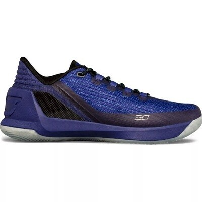 Мужские баскетбольные кроссовки Under Armour  Curry Low Top Blue
