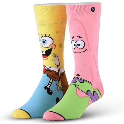 Спортивные носки ODD SOX SPONGEBOB SQUAREPANTS