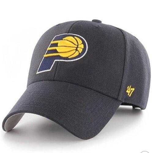 Кепка 47 Brand Indiana Pacers, черная