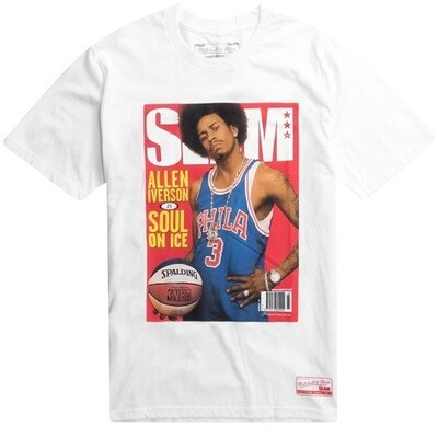 Мужская футболка Mitchell and Ness Allen Iverson