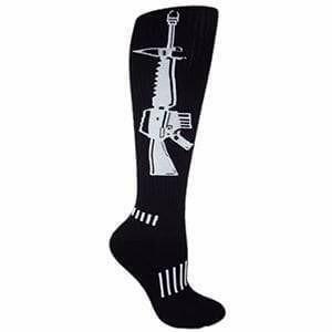 Высокие спортивные гольфы Moxy socks АК-47