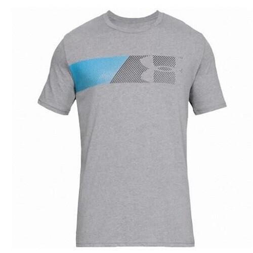 Мужская спортивная футболка Under Armour UA Fast Left Chest PETROL