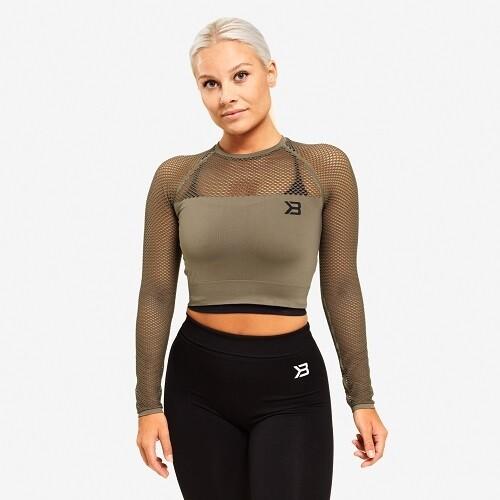 Спортивный женский топ с длинным рукавом Better Bodies Bronx cropped LS