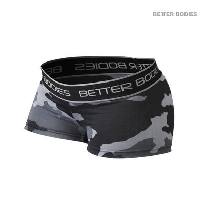Спортивные камуфляжные шорты Better Bodies Fitness для фитнеса