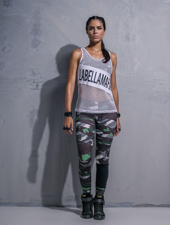 Спортивные лосины для фитнеса Labellamafia Unbroken Resistance