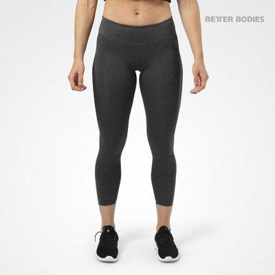 Спортивные лосины для фитнеса Better Bodies Astoria Tights, Graphite Melange