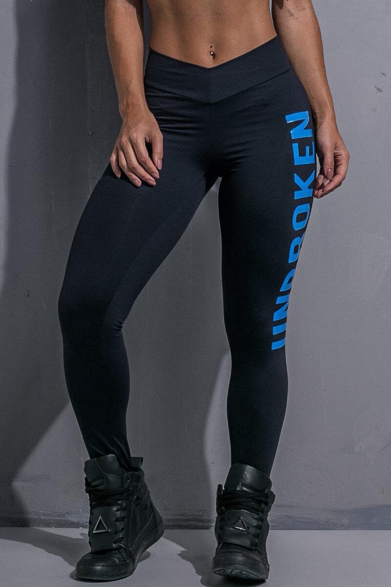 Спортивные лосины для фитнеса Labellamafia Unbroken Blue