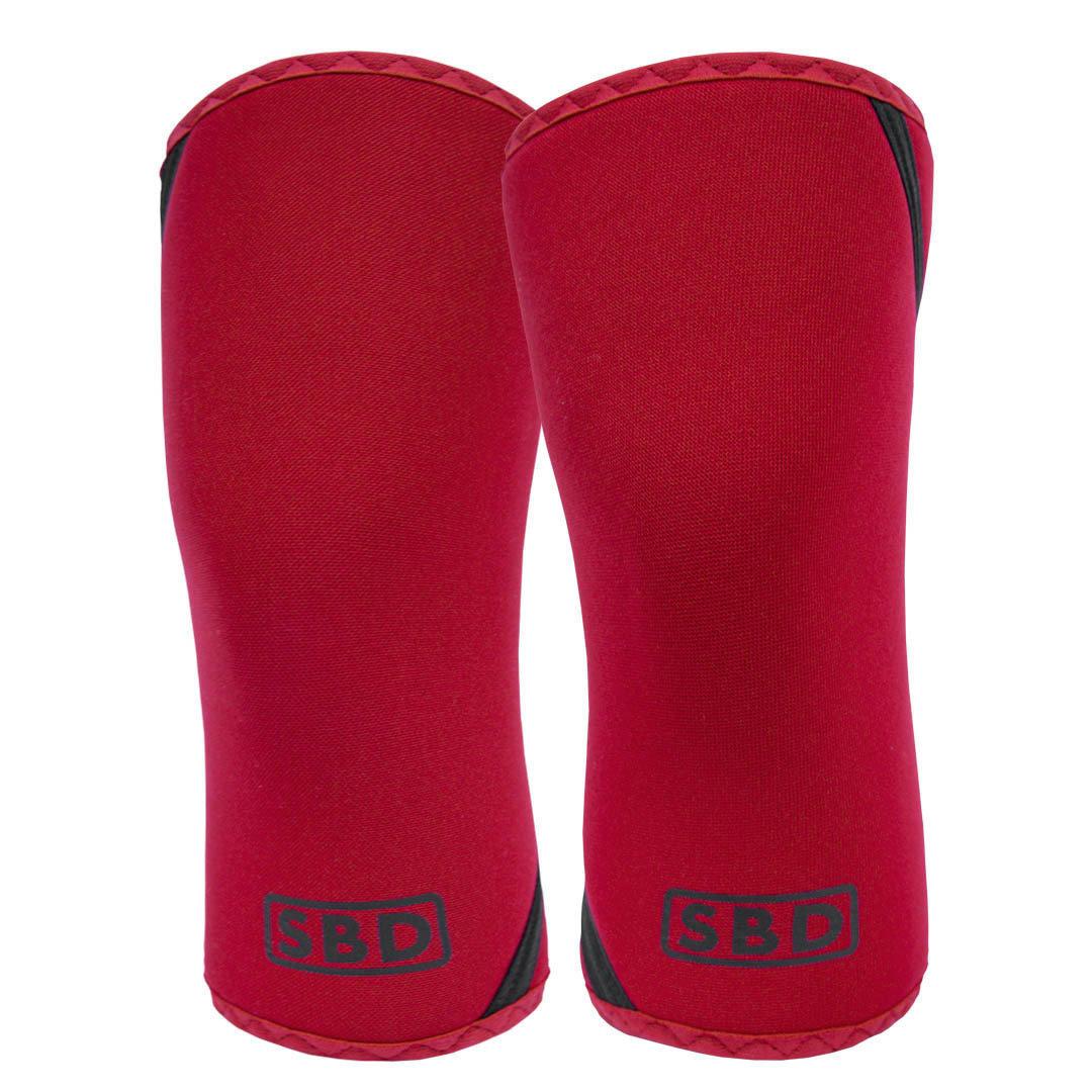 SBD наколенники для пауэрлифтинга 7 мм (ограниченная серия RED).