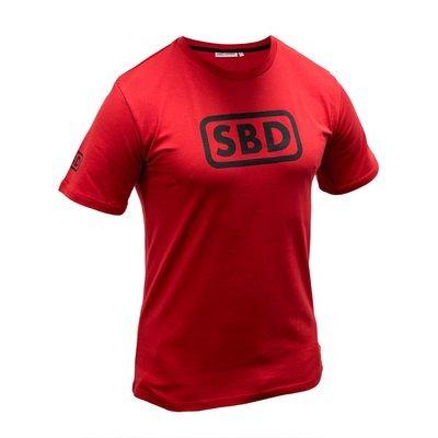 Официальная футболка бренда SBD (ограниченная серия RED)