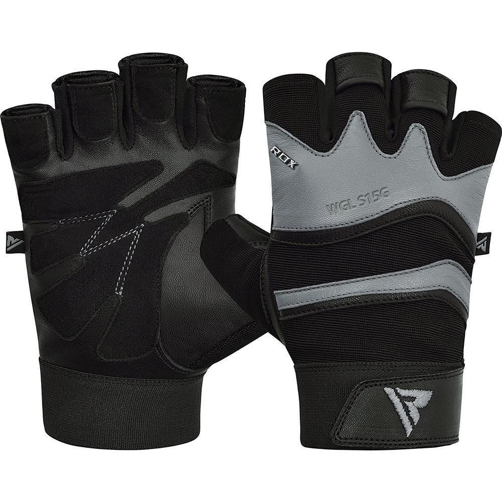 Мужские тренировочные перчатки RDX FITNESS GYM