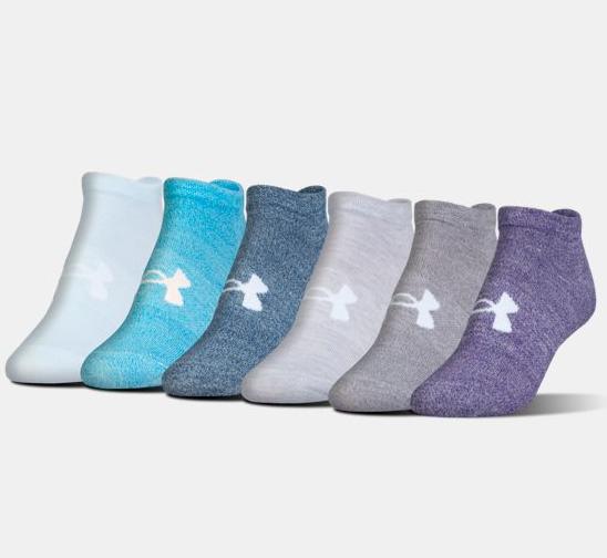 Женские спортивные носки Under Armour Big Logo No-Show