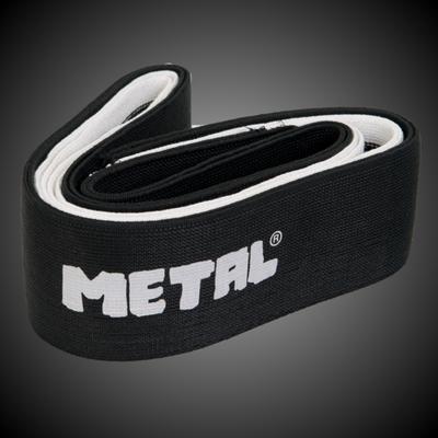 2,5 м коленные бинты для приседа METAL Mystical Black