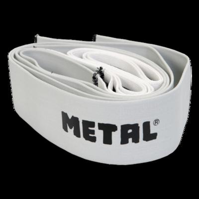 2,5 м коленные бинты для приседа METAL Mystical Silver