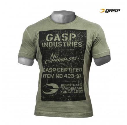 Тренировочная футболка GASP Broad Street Print Tee