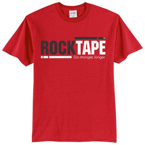 Футболка женская красная  RockTape