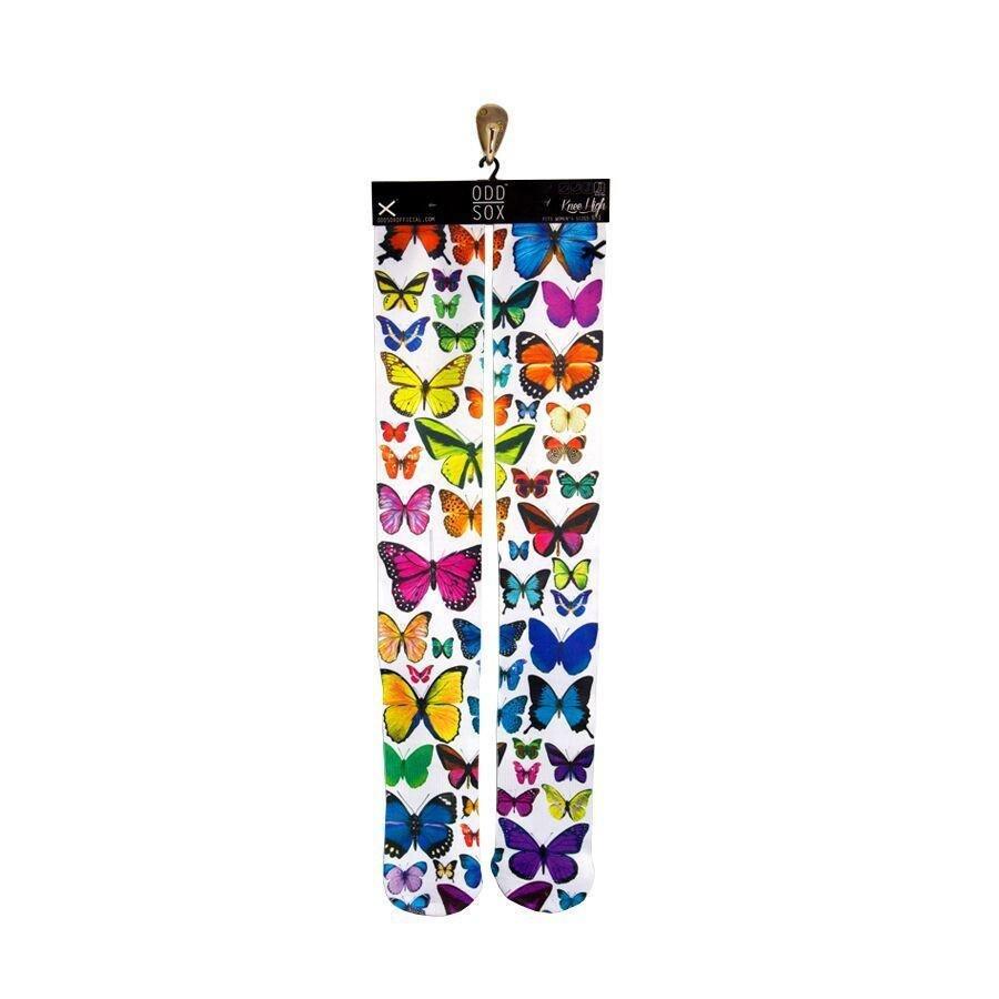 Высокие спортивные гольфы  ODD SOX Butterflies