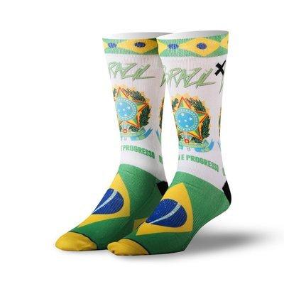 Спортивные носки ODD SOX Brazil