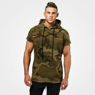Безрукавка Better Bodies Bronx T-shirt hoodie, Military camo